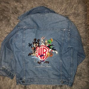 SUPER CUTE VINTAGE JEAN JACKET